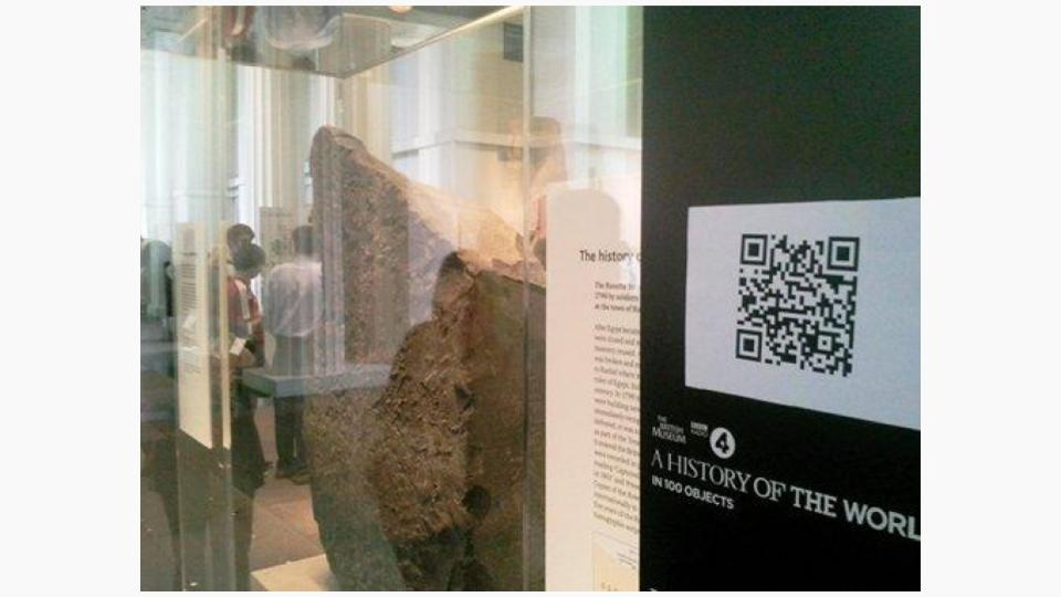 Breathing new life into otherwise 'boring' places with QR codes