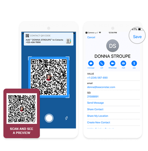 vcard qr code marketing 2019